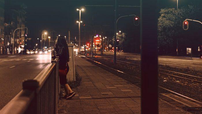 Color street photography Belgium